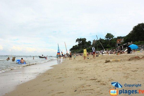 Plage de sable des Souzeaux à Noirmoutier