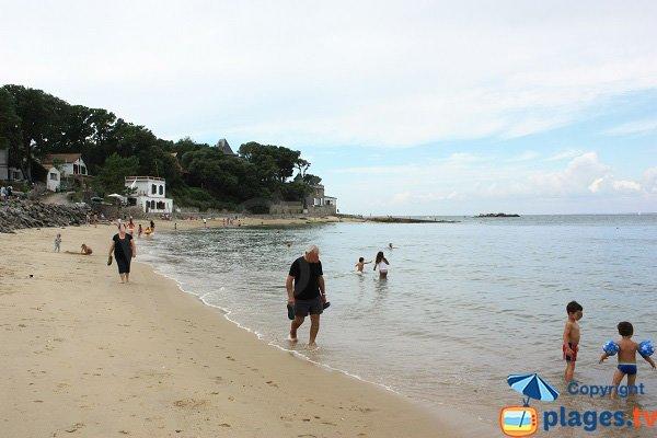 Baignade sur l'ile de Noirmoutier - Les Souzeaux