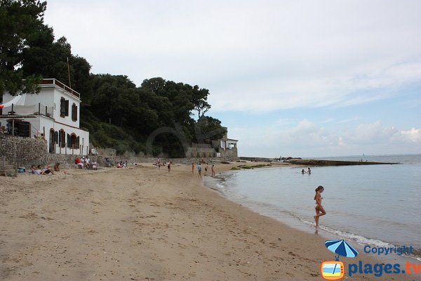 Extrémité de la plage des Souzeaux