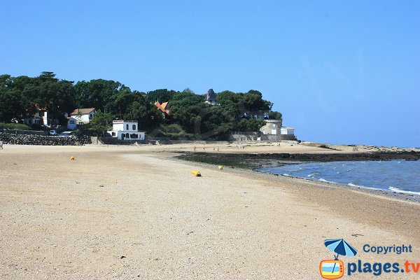 Souzeaux beach at low tide  - Noirmoutier