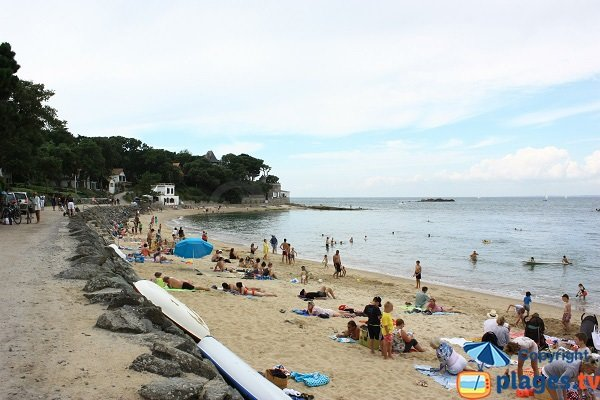 Souzeaux beach in Noirmoutier in France