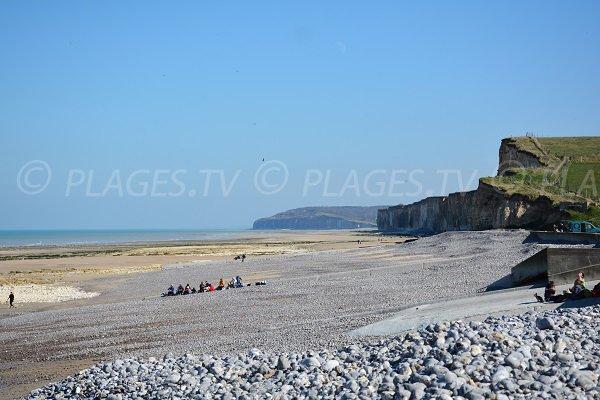 St Aubin beach towards Quiberville