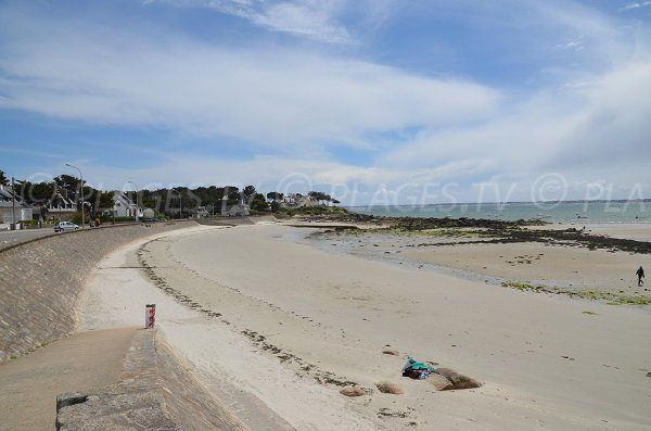 Photo of St Colomban beach in Carnac-Plage in France