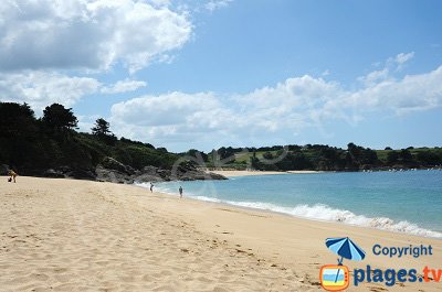 Beach in Saint Coulomb - France