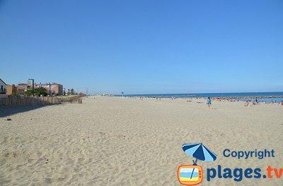 Spiaggia di Saint Cyprien - Francia
