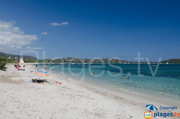 Spiaggia selvaggia di Saint Cyprien in Corsica