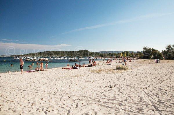 Photo de la plage de St Cyprien en Corse - zone nord