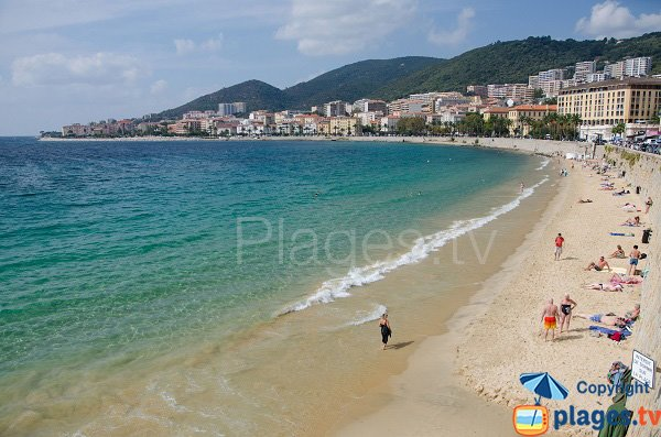 Photo of Saint François beach in Ajaccio - Corsica