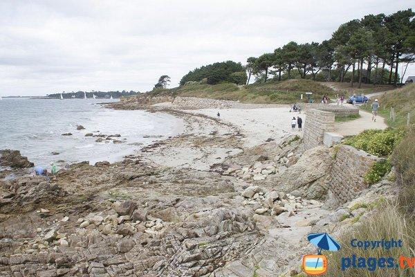 Photo de la plage de Saint Gilles à Bénodet