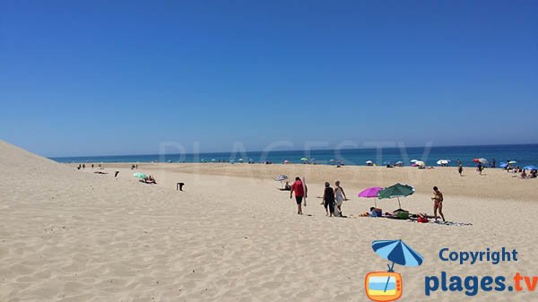 Photo of St Girons beach in August