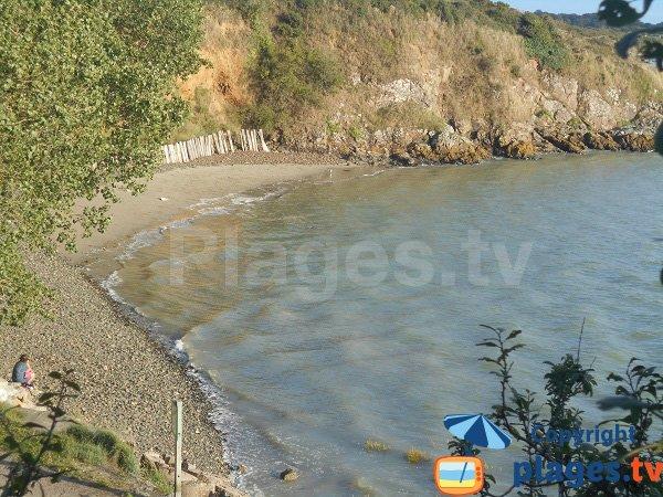 Photo de la plage de St Guimond à Hillion