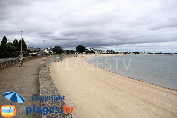 Promenade le long de la plage de St Guérin - Damgan
