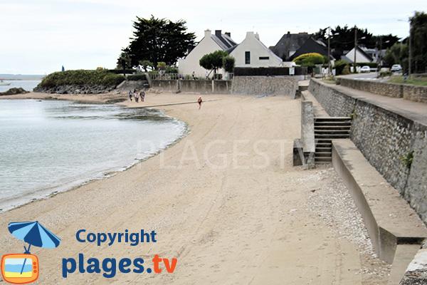 Pointe du Bill - plage de St Guérin