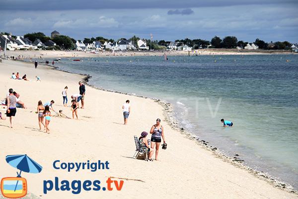 Photo de la plage de Saint Guérin à Damgan