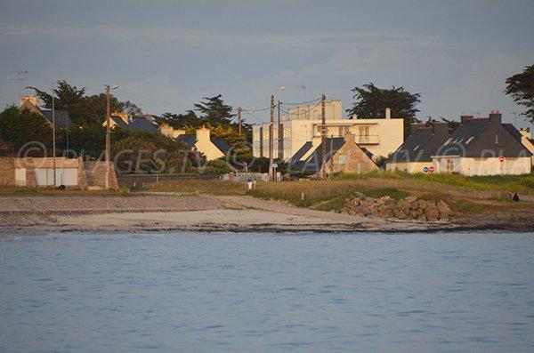 Poste de secours de la plage de St Jacques de Sarzeau