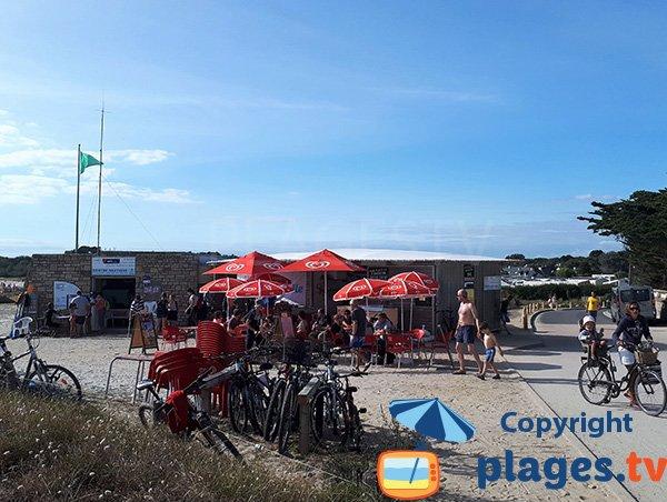 Snack de la plage de St Jacques de Sarzeau