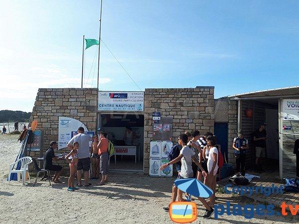 Centre nautique de la plage de St Jacques - Sarzeau