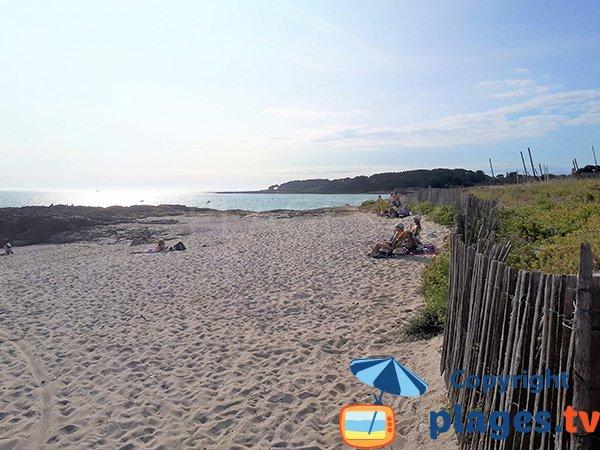 Recoin sur la plage de St Jacques - Sarzeau