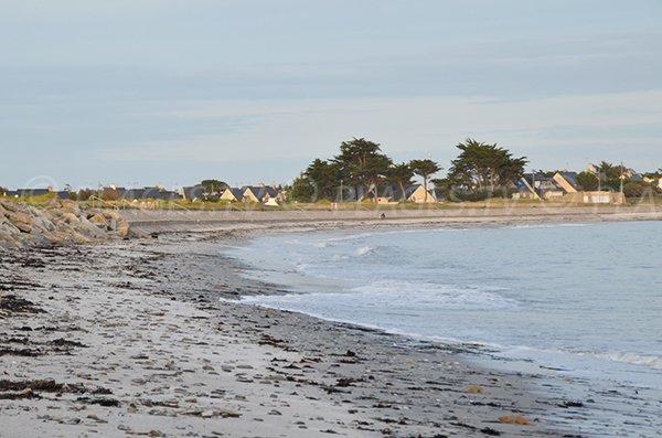 Photo de la plage de Saint Jacques de Sarzeau