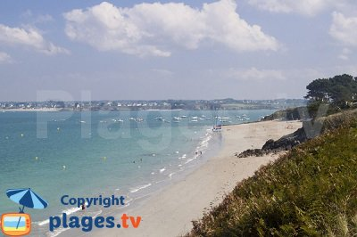 St Jacut de la Mer Beach in France