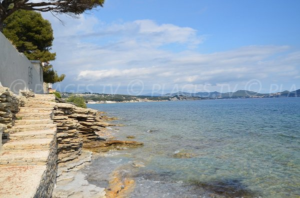 Sentiers et escaliers des plages de St Jean à La Ciotat