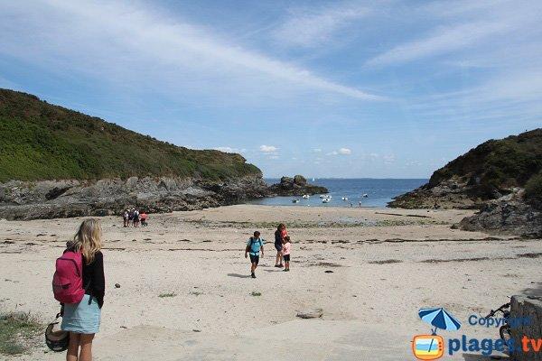 Photo de la plage de Saint Jean à Belle Ile en Mer - Le Palais