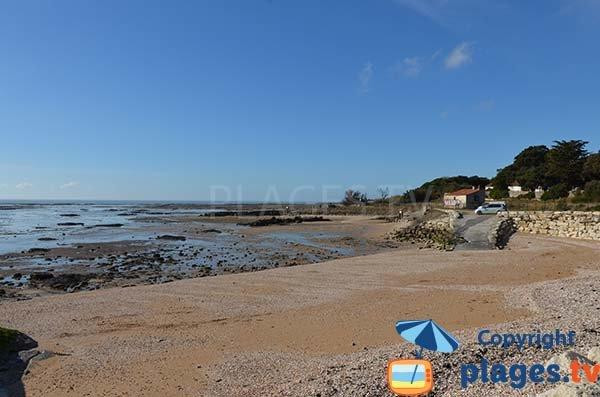 Zone nord de la plage de St Jean des Sables - Angoulins