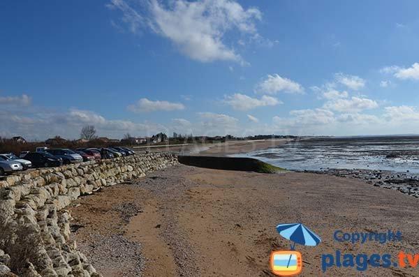 Photo de la plage de St Jean des Sables