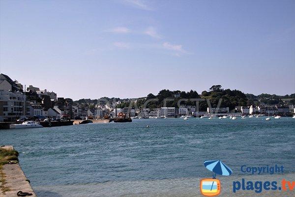 Port d'Audierne vue depuis Plouhinec