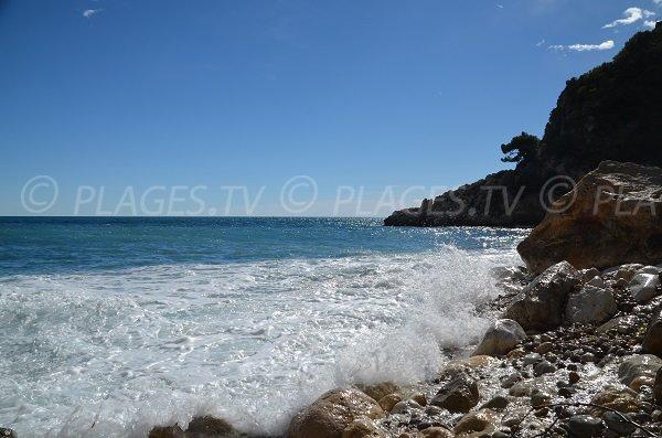 Galets sur la plage de St Laurent d'Eze