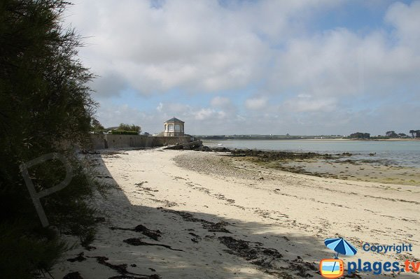 Beach of Saint Luc in Roscoff