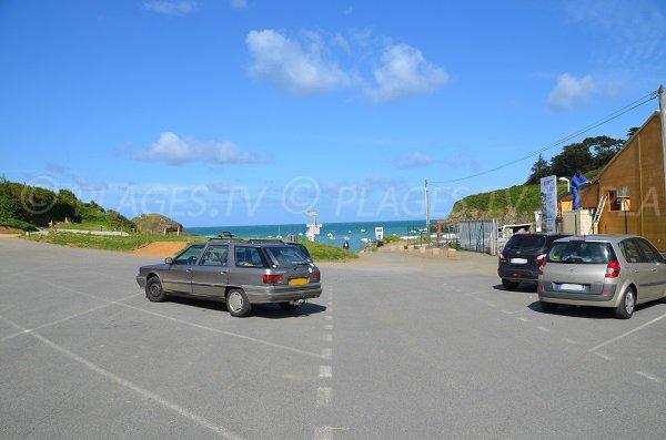 Parking de la plage Saint Marc de Tréveneuc