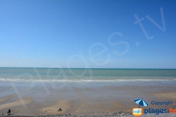 Plage de sable en Seine Maritime - St Martin en Campagne