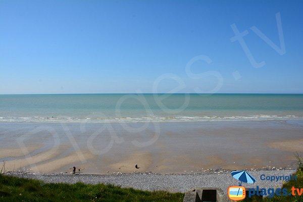 Photo de la plage de St Martin en Campagne en Normandie