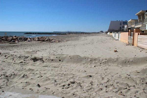 Saint Maurice beach in Palavas les Flots