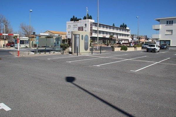 Parcheggio della spiaggia San Maurizio Palavas