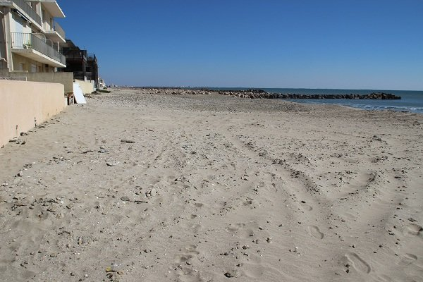 St Maurice beach in Palavas les Flots in France