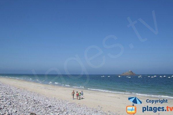 Spiaggia di Saint Michel a Erquy - Bretagna - Francia