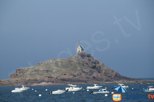 Island of Saint Michel in Erquy