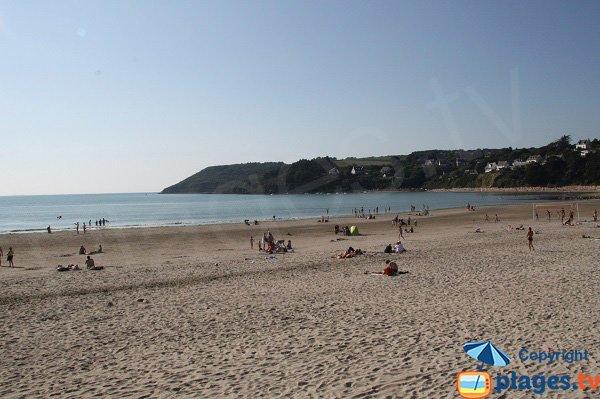 Beg ar Forn depuis la plage de la Lieu de St Michel