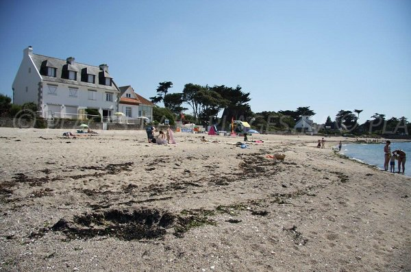Saint Michel beach in Piriac in France