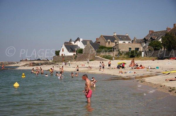 Photo of main beach of Piriac sur Mer