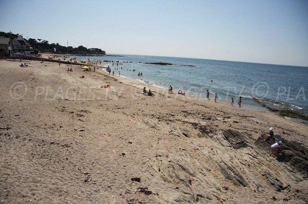 Photo of main beach in Piriac sur Mer in France