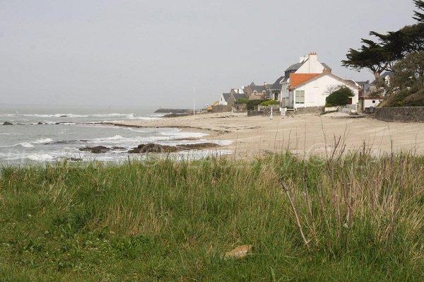 St Michel beach in Piriac sur Mer in France