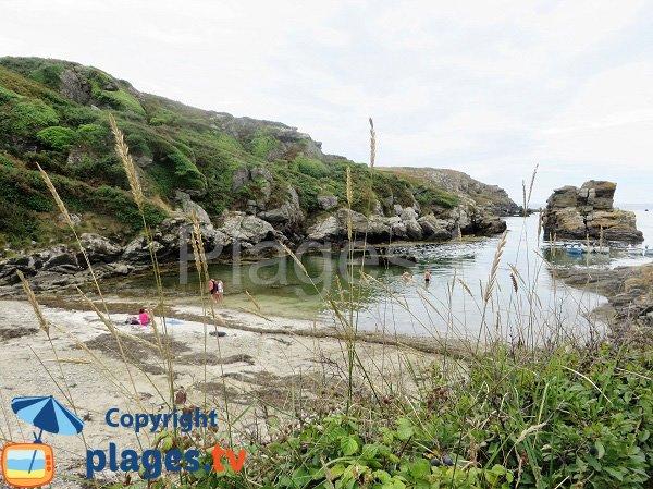 Photo de la plage de Port Saint Nicolas sur l'ile de Groix