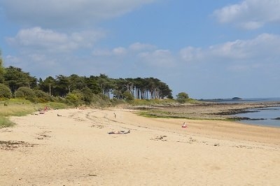Plage de St Philibert 56