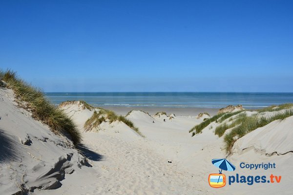 Photo de la plage de St Quentin en Tourmont