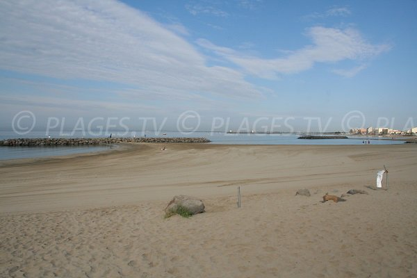 Photo of Saint Vincent beach in Agde - France