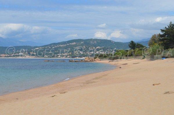 Punta della spiaggia di Stagnole - Isolella