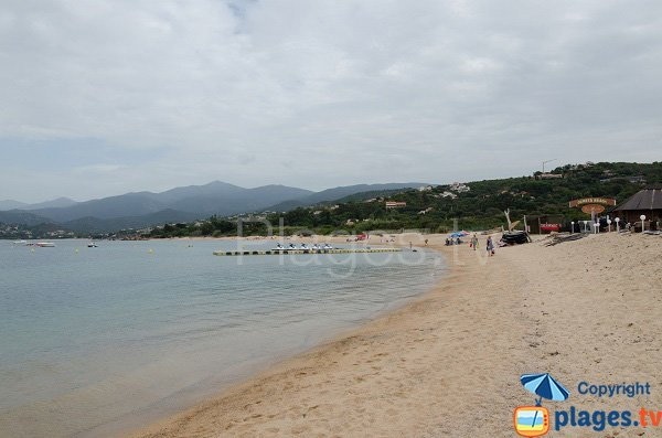 Photo de la plage de Stagnole en Corse